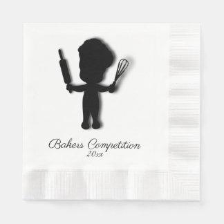 Bakers Custom Name Paper Napkin