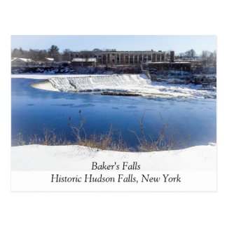Baker's Falls Postcard