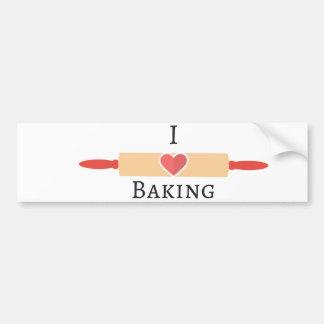 Bakers Love Bumper Sticker