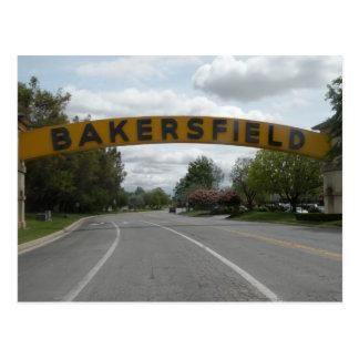 Bakersfield, CA Postcard