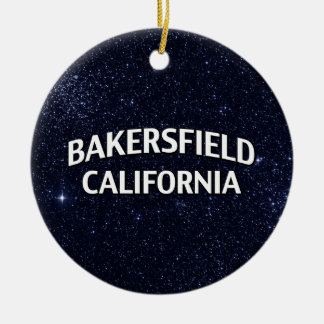 Bakersfield California Ceramic Ornament