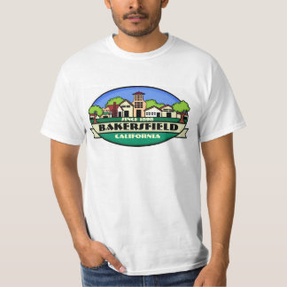 Bakersfield California golden town value tee