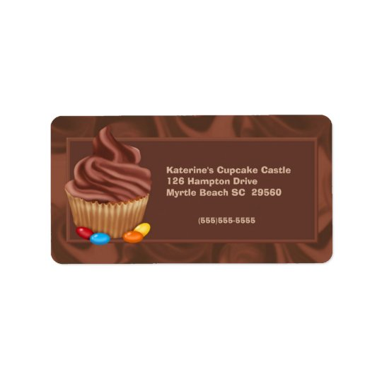 Bakery Address Label