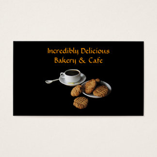 Bakery and Cafe Business Card