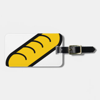 Bakery Baguette Luggage Tag
