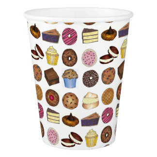Bakery Bake Sale Foods Brownie Cupcake Pie Sweets Paper Cup