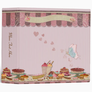 Bakery Boutique Cakes & Patisserie Binder
