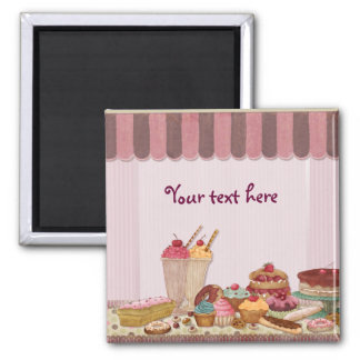 Bakery Boutique Cakes - Patisserie Magnet