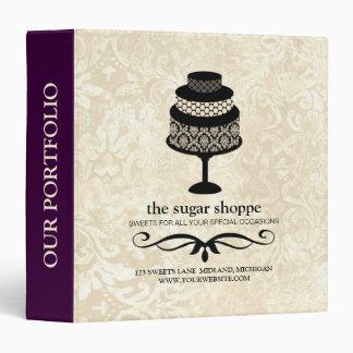 Bakery Boutique Product Portfolio Binder (Purple)