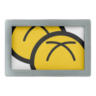 Bakery Buns Rectangular Belt Buckle