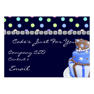 BAKERY  Business Cards with BLING