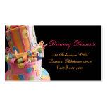 bakery,cake,business card,fun,yummy,colourful,cute