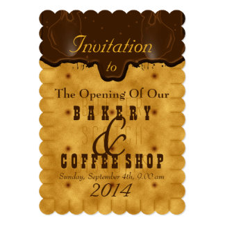Coffee Shop Invitations Amp Announcements