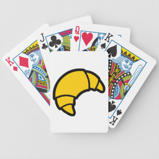 Bakery Croissant Bicycle Playing Cards