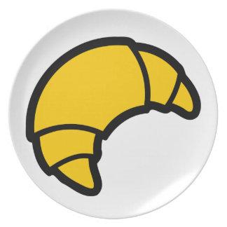Bakery Croissant Plate