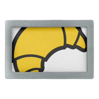 Bakery Croissant Rectangular Belt Buckles