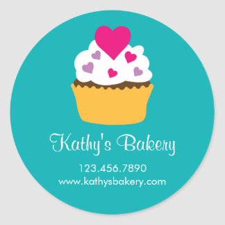 Bakery Cupcake Sticker