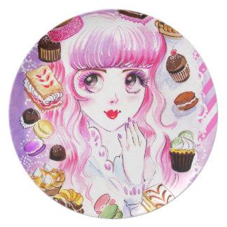 Bakery Girl Plate