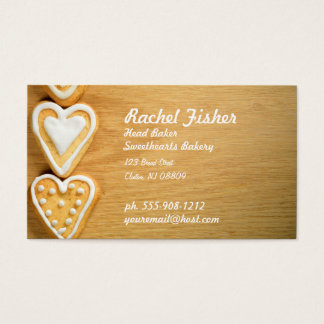 Bakery Homemade Cookies Custom Business Card