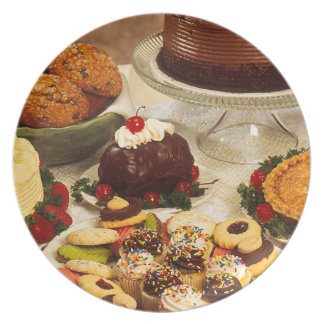 Bakery Items Plate