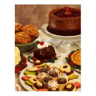 Bakery Items Postcard
