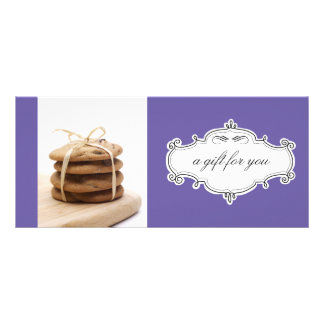 Bakery or Cookie Business Gift Certificates Rack Card Template