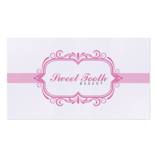 Bakery Pack Of Standard Business Cards