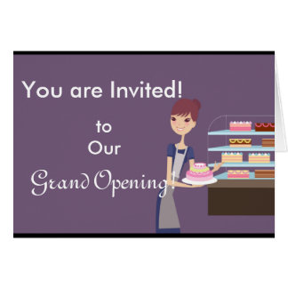 Bakery/Pastry Shop 4 Design Card