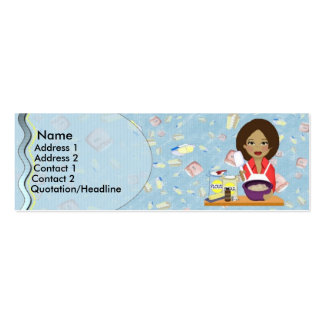 Bakery Profile Card Business Cards