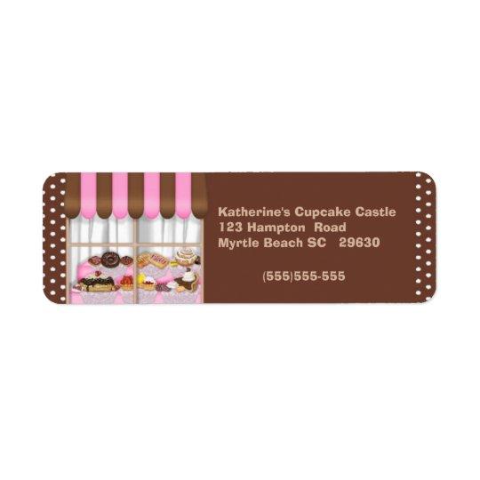 Bakery Return Label Return Address Label