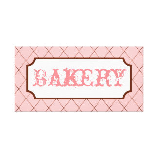 Bakery Sign Wall Art
