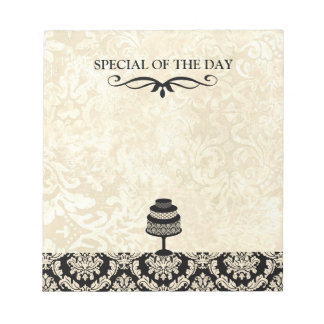 Bakery Special of the Day Tear-Away Page Notepad