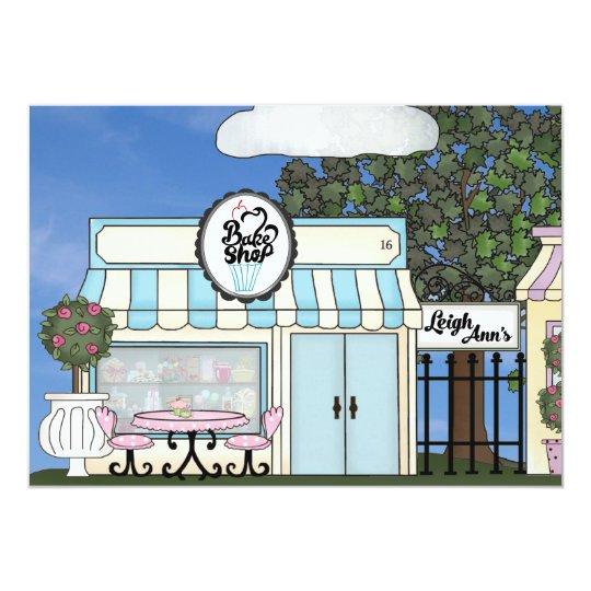 Bakery Sweet 16 Invitation