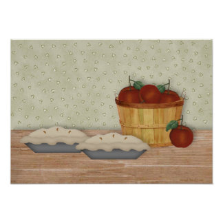 Baking Apple Pie Print