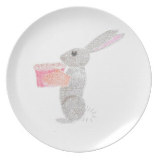 Baking Bunny Plate