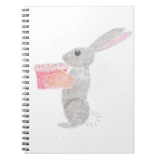 Baking Bunny Spiral Notebook
