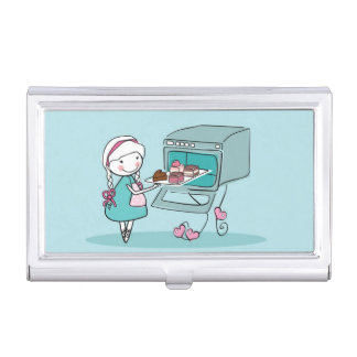 Baking Business Card Holder