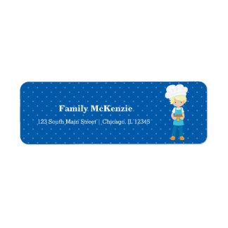 Baking * choose your background color return address label