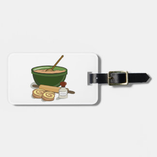 Baking Cinnamon Rolls Luggage Tag