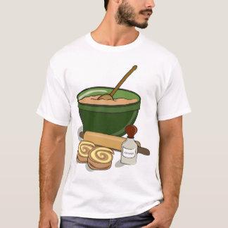 Baking Cinnamon Rolls Mens T-Shirt