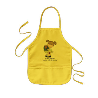 Baking Cookies kids apron