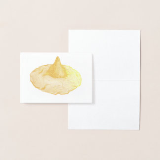 Baking Foodie Peanut Butter Blossom Cookie Foil Card