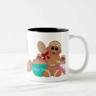 Baking Gingerbread Holiday coffee mug