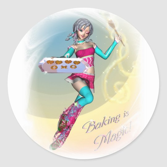Baking Is Magic sticker