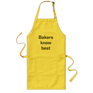baking long apron
