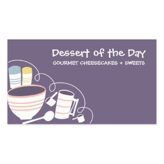 baking mixing bowl kitchen cannisters bakery bu business card