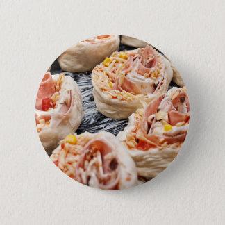 Baking pizzette 2 inch round button