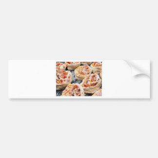 Baking pizzette bumper sticker