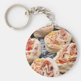 Baking pizzette keychain
