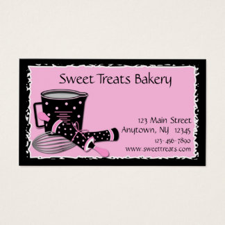 Baking Polka Dots Business Card
